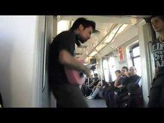Rafael Budu en el metro (17-08-2013) - YouTube