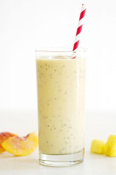 Peach Pineapple Chai Smoothie