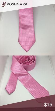 Pink Tie Secure your status as an urban trendsetter in this skinny tie from Knots For Him. The perfect accompaniment to your favorite slim fit suit, it's a knockout look for your next dressy event.   Product Details   	Color          Pink  	Matirial       100% Cotton Accessories Ties