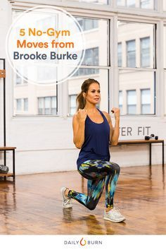 5 Two-for-One Bodyweight Exercises from Brooke Burke-Charvet