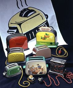 Vintage Toy Toasters. What are they worth? Learn about your collectibles, antiques, valuables, and vintage items from licensed appraisers, auctioneers, and experts http://www.bluevaultsecure.com/roadshow-events.php