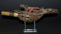 ceremonial sculptures - pipe/whistle