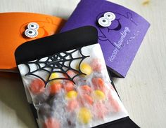 Ghostly Treat Packaging by Maile Belles for Papertrey Ink (August 2012)