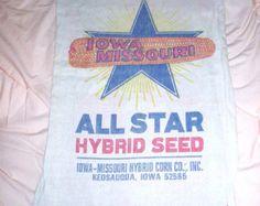 Vintage Northrup King &Co Kingscrost Hybrid Seed by oldstuffbrad