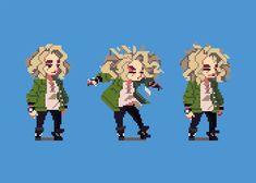 How To Pixel Art, Cool Pixel Art, Anime Pixel Art, Piskel Art, Arte 8 Bits, 8bit Art, Pixel Animation, Pixel Art Games, Pixel Design