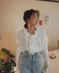 Korean Outfits, Mode Outfits, Fashion Outfits, Womens Fashion, Fashion Pants, Look Fashion, Korean Fashion, Fashion Beauty, Fashion Styles