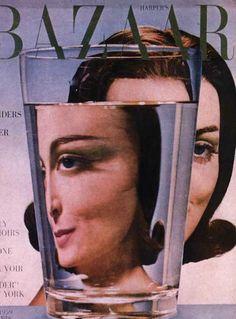 Harper's Bazaar, May 1959 | 10 Stunning Vintage Magazine Covers Featuring Carmen Dell'Orefice