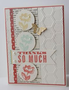 Stampin'Up! products-love the sprizting on the background!
