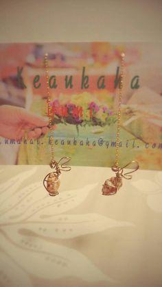 """""""Pu'uwai """"earrings"""