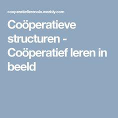 Coöperatieve structuren - Coöperatief leren in beeld