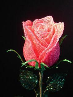 Beaded Roses, French Beading