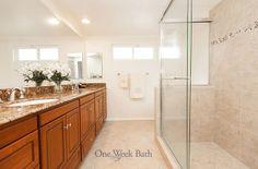 One Week Bath Remodeling Photos