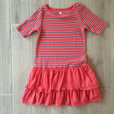 Tea Collection Girls Dress, Size 7 #TeaCollection