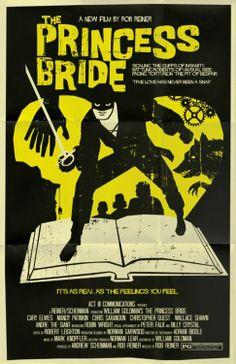 Princess Bride alternate movie poster