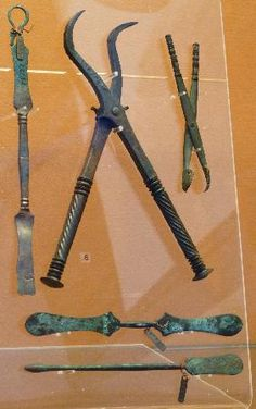 Dental Instruments found at Pompeii