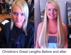 Great Lengths Hair extensions before and after pictures ruislip