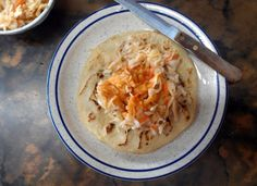 Pupusas at any of many El Salvadorian restaurants in the Los Angeles area.