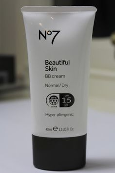 what I'll be replacing my foundation with this spring...one of the only skin specific BB creams, I've got this one for Normal/Dry skin, in Fair. As you can see in the picture it offers proper UV protection and is moisturising without looking greasy. Although it evens out skin tone, the overall colour can look a little on the grey side, so I like to finish with a little bronze and blush!
