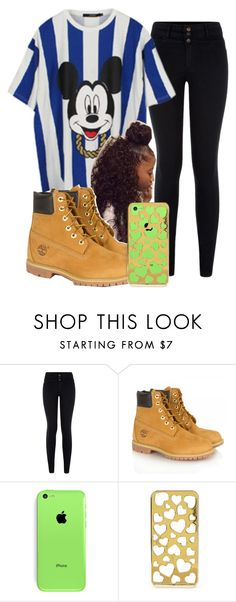"""♔"" by beauty-star-babydoll930 ❤ liked on Polyvore featuring Joyrich, Timberland and Forever 21"