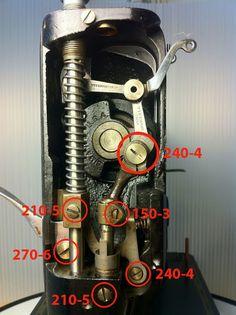 The Vintage Singer Sewing Machine Blog: 201-2  Brownell's bit numbers