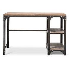 Franklin Desk with Shelves - The Industrial Shop™