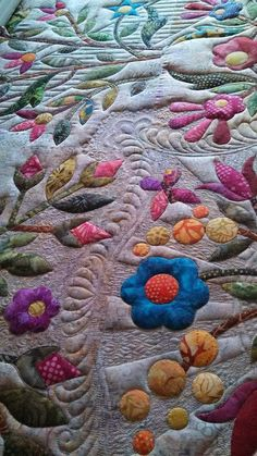 Seamingly Slawson Quilts: Spring Bouquet's take 2