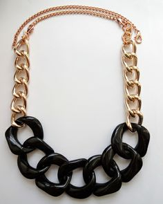 The Vogue Rose Gold Convertible Necklace by JewelMint.com, $54.00