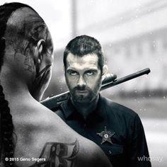 "«Je vous reverrai flic, en dehors de cette cage""cinemaxbansheebansheetvshowHBO #banshee #cinemax #banshee"