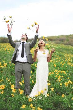 5. #Sunflowers - 7 Stunning #Summer #Wedding #Themes for an Unforgettable Day ... → Wedding #Linen