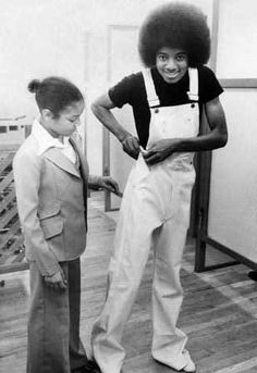 Michael and Janet Jackson as children (1969-1979) | InspireFirst