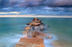 Metal Print, Beach Photography, Seascape Photo, Large Metal Wall Art, Coastal Decor, Nantucket Picture, Ocean Sea Jetty, Teal Blue Purple