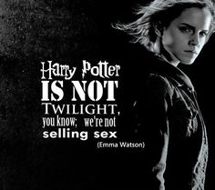 I'm in love with Emma Watson. And this quotation by her definitely increased that.