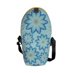 Abstract Blue Lotus Flower Mini Messenger Bags, Select your trim color and contrasting front color at CherylsArt on Zazzle http://www.zazzle.com/abstract_blue_lotus_flower_mini_messenger_bags-210704585316107655?rf=238518040592932293