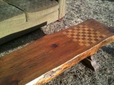 Checkerboard Bench - $45 (Paxton)