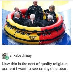 Like, the ONLY religious content on here I want, this kind of stuff