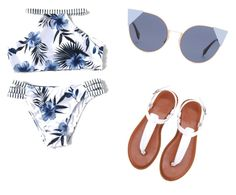 """""""Beach day!!"""" by sydney-83 on Polyvore featuring Fendi"""