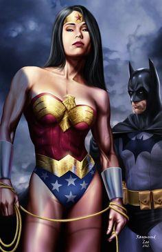 Wonder Woman & Batman