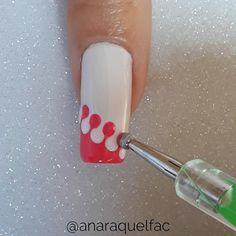 Girls Nail Designs, Elegant Nail Designs, Nail Art Designs Videos, Nail Art Videos, Gel Uv Nails, Nail Desighns, Art Deco Nails, Classy Acrylic Nails, New Nail Art Design