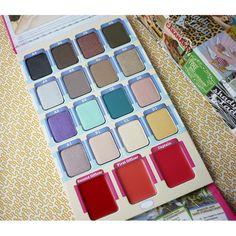 Balm Makeup Voyage Meet Matte Eyeshadow Palette Nude+ Lipstick + Blush Shimmer Shadows Hot 2016 America Makeup Brands