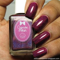 Cupcake Polish Blood Hound | Addicted to Polish
