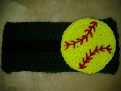 Free Crochet Pattern For Softball Headband : 1000+ images about Crochet Softball earwarmer on Pinterest ...