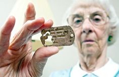 Dog tags of soldier killed in WWII returned to sister nearly 70 years later History Online, Metal Detector, Wwii, Dog Tags, Sisters, August 2013, Articles, Content, World War Two
