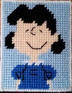Peanuts Lucy Tissue Box Cover
