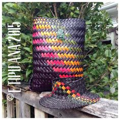 #etipuana_combo  E Tipu Ana standard rasta combo  Pikau and Potae - backpack and hat