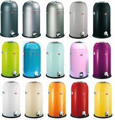 Wesco Kickmaster Mülleimer mit SOFT-CLOSE vom Pushboy Macher in vielen Farben in Haushaltsgeräte, Kleingeräte Haushalt, Sonstige | eBay