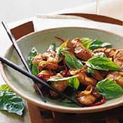 Thai Chicken with Basil Recipe at Cooking.com
