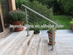 handrails for outdoor steps stainless steel railings luxury stair railing wire rope cable system railing
