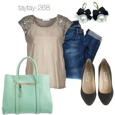 """""""Casual Friday"""" by taytay-268 on Polyvore"""