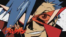 Goo ranks the best characters in anime and manga that you would want to call big brother - SGCafe Manga Boy, Anime Manga, Badass Anime, Gurren Lagann Kamina, Gurren Laggan, Anime Guys With Glasses, Kawaii Faces, Banksy Art, Traditional Games