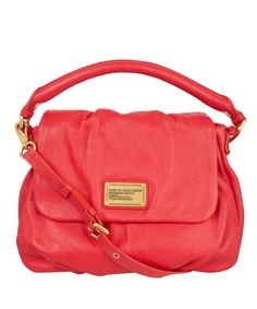 Coral Classic Q Lil Ukita Leather Shoulder Bag, Marc by Marc Jacobs. Shop the latest bags from the Marc by Marc Jacobs collection online at Liberty.co.uk £350